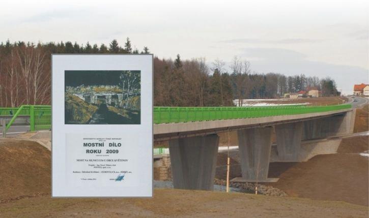 Most Na Silnici I/34 u Obce Květinov