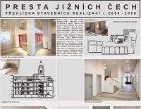 Rekonstrukce budovy u Tří lvů 1/A Č. Budějovice