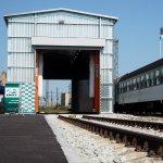 Nový stabilní umývač kolejových vozidel v Českých Budějovicích