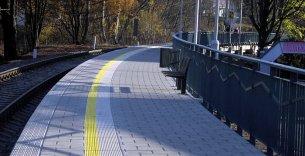 Prodloužení nástupiště na zastávce Železná Ruda-centrum
