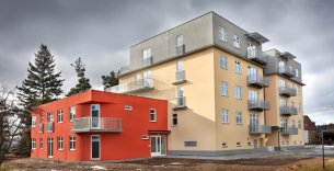 Bytový dům Zahradní ulice - Ševětín